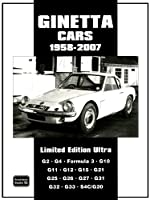 Ginetta Cars Limited 1958-2007 Limited Edition Ultra
