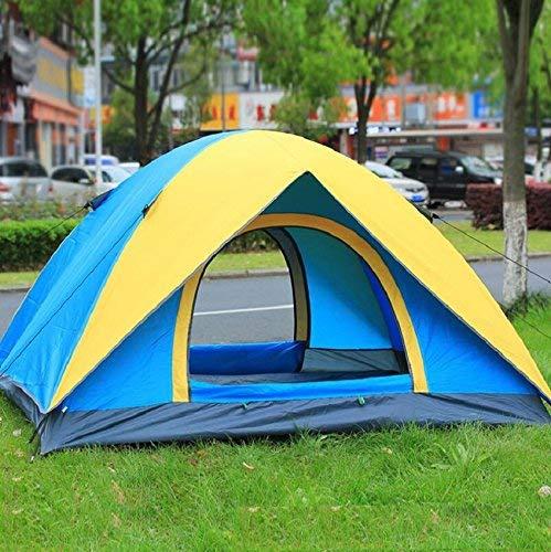 RYP Guo Outdoor Products Camping Tentes décontractées, 3-4 Personnes, tentes extérieures portatives, Protection Solaire imperméable à l'eau de Ventilation, tentes de Camping à la Maison,3-4 Personne,