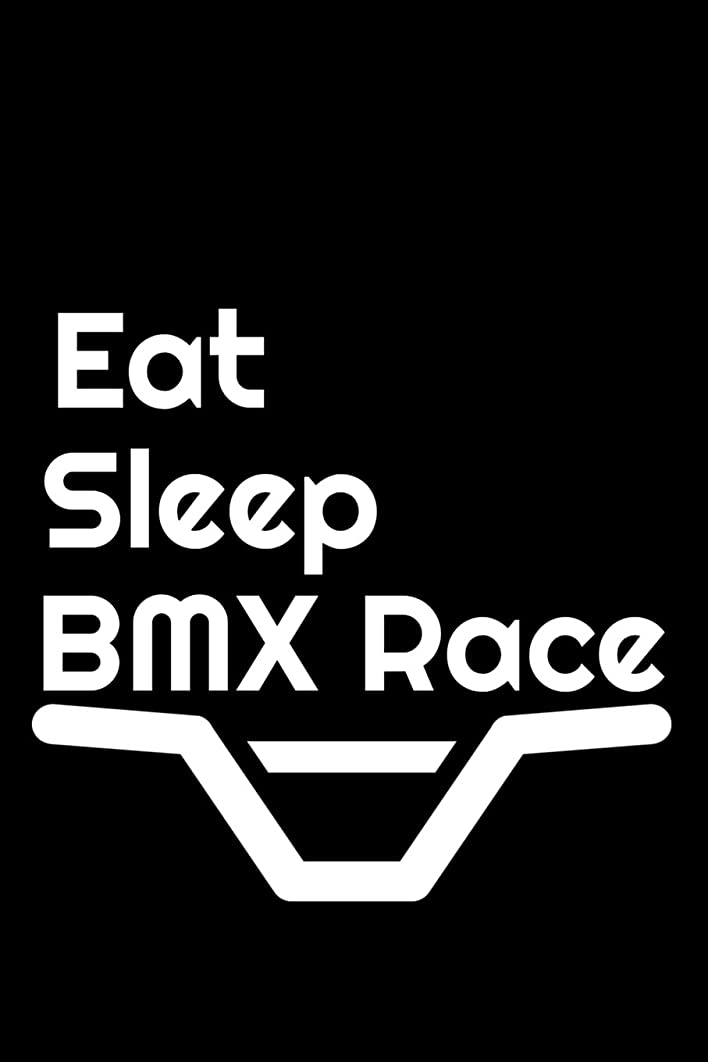 今日無し振る舞うEat Sleep BMX Race: Journal Paper Notebook