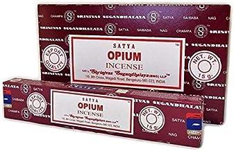 Satya Opium Incense Sticks - 180 Grams - Premium Quality - Bulk Box