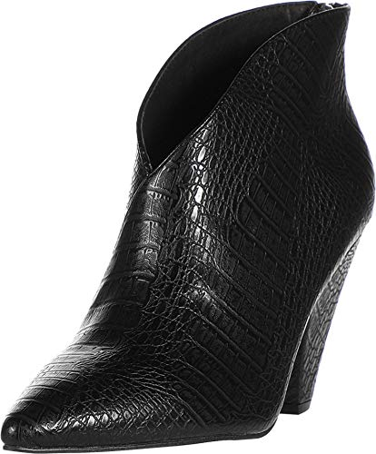 Chinese Laundry Women's Ankle Bootie Boot, Black Reptile, 7