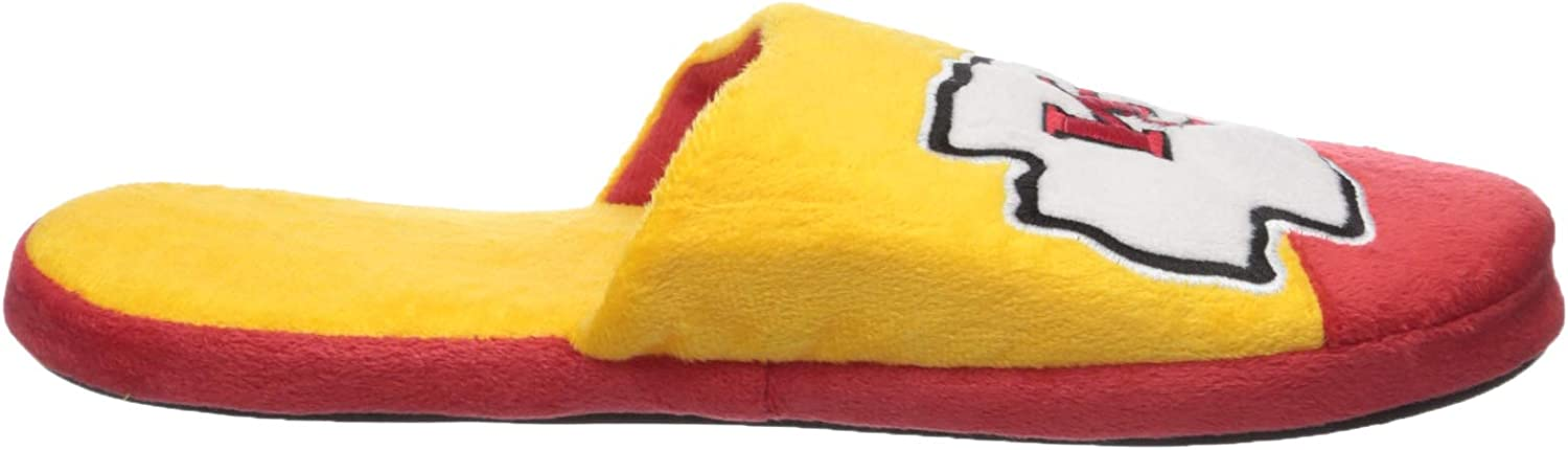 FOCO NFL Unisex Colorblock Slide Slipper