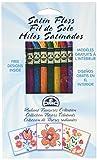 DMC 1008FPK1 Shiny Radiant Treasures Satin Floss Pack, Assorted Color, 8.7-Yard