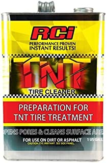 Southwest Speed RCI TNT TIRE Cleaner, Racing TIRE PREPERATION Softener, 1 Gallon, TIRE PREP Cleans Surface, Opens PORES REMOVES Glaze