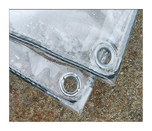 CXF Impermeable a Prueba de Viento Tarpaulin Transparente PVC Impermeable Resistencia al desgarro de la Resistencia al desgarro del Metal del oxidal de Metal Usado for el Patio al Aire Libre