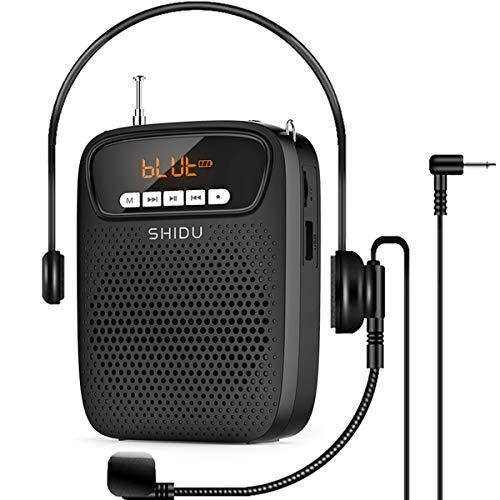 Amplificador de Voz, 15 Voltios (2500 mAh) Sistema de PA Recargable de...