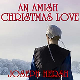 An Amish Christmas Love audiobook cover art