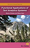 Best Document Management Softwares - Functional Applications of Text Analytics Systems Review