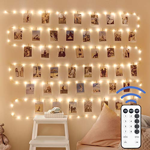 66ft 200 LED Fairy String Lights with Remote USB Powered, for Bedroom Decor