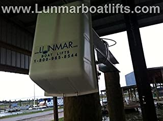 Lunmar Boat Lifts White Motor Cover