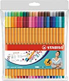 Fineliner - STABILO point 88 - Astuccio da 40 - Colori assortiti...