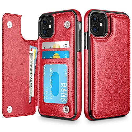 Estuche HianDier Wallet para iPhone 11 de 6.1 pulgadas Slim ...