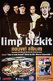 Original Promo Poster Limp Bizkit: Nouvel Album [ca. 80 x