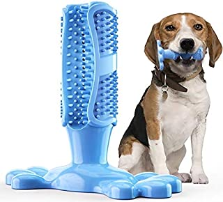 Ezonedeal Dog Toothbrush Dog Chew Toy Puppy Dental Care Massager Small Medium Doggy Teeth Cleaner Tooth Brushing Stick Nat...