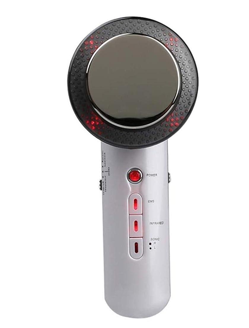 ずらす沿って統合減量デバイス、電気ハンドヘルド超音波EMSボディマッサージャー、ポータブル脂肪エリミネーター