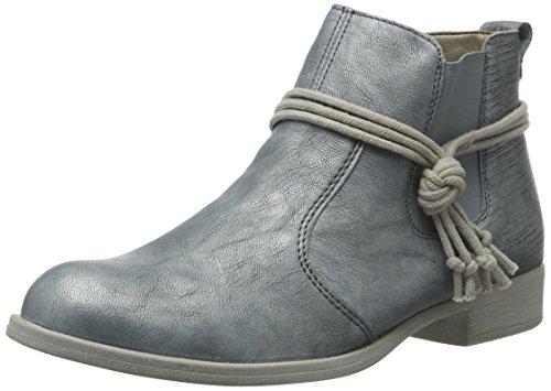 Remonte Damen R9393 Chelsea Boots, Blau (Blue/Blue/12), 40 EU