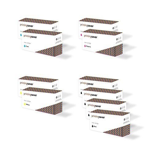 2x SETS & 2x BLACK of compatible toners for DELL 2150cn, 2150cdn, 2155cn, 2155cdn printers