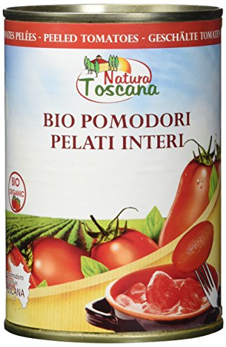 NATURA TOSCANA Geschälte Tomaten In Dose (1 x 400 g)