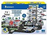 STARLUX – 401104 – Super Garage Michelin – Quatre Niveaux et Plateforme Pompiers - Circuit 4...