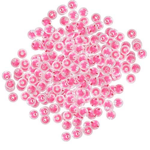 Faceuer Cañón de Confeti, Poppers de Confeti de plástico, 4 Piezas de cañón de revelación de género, propuestas de Matrimonio con Doble Tratamiento para Bodas, Fotos,(Glossy Rose)