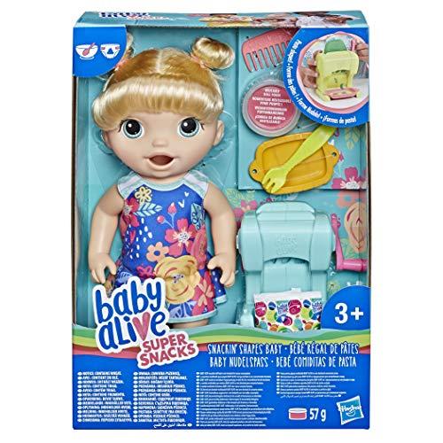 Baby Alive- Snackin, Multicolor (Hasbro E3694ES0) , color/modelo surtido