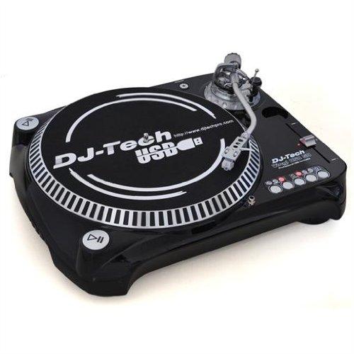 DJ-tech Vinyl USB 50 Professioneller direktangetriebener HI-Torque Plattenspieler (USB 2.0)