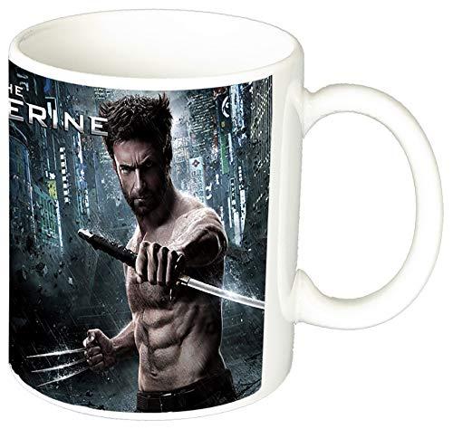 MasTazas X Men Wolverine Lobezno Hugh Jackman A Taza Ceramica