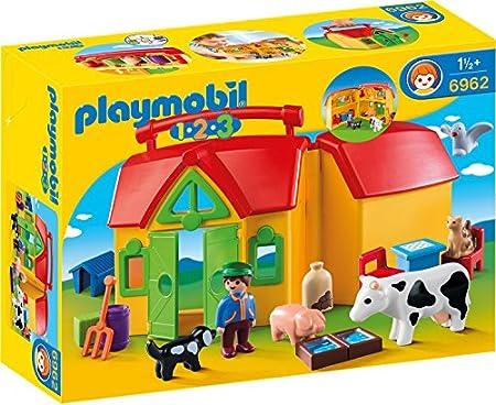 PLAYMOBIL 1.2.3 - Mein Mitnehm-Bauernhof