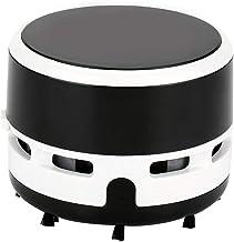 Agatige Odkurzacz na biurko, przenośna zamiatarka próżniowa biurko biuro stół komputer na baterie klawiatura zamiatarka (c...