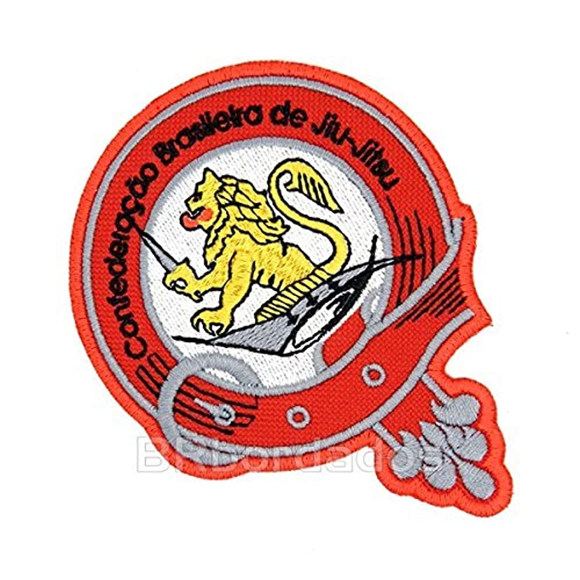 Atm020 Jiu Jitsu Embroidered Patch Iron or Sew