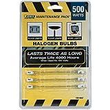 Feit Electric Bpq500/Mp/130 500w Maintenance Pack Double Ended T3 Halogen Qtz Lt Bulb