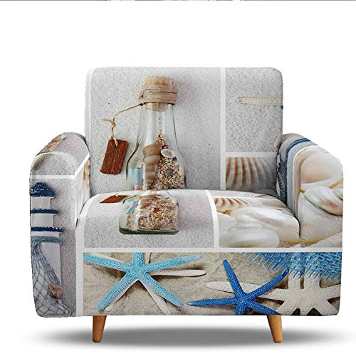 3D Digital Printing Sofa Slipcover,Stretch Couch Covers For Sofa Covers For Living Room For Dogs,Easy To Install,Fit 1/2/3/4 Seater 1 Seater