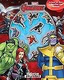 Vengadores Infinity War. Historias animadas: Incluye un libro y figuritas con ventosa