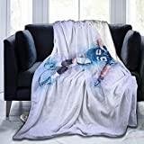 Nanabang Luke Kuechly Soft Micro Fleece Blanket Fit Bed Couch Blankets for Kids Adults 50'X40'