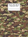 """Primary Story Journal Composition Book: Primary Story Journal Camo Print Cover, Dotted Midline and Picture Space   Grades K-2 Composition School Exercise Book   120 Pages, Size 8.5"""" x 11"""" By Eva Koch"""