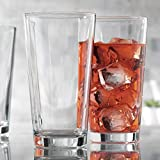 Drinking Glasses, Set Of 10 Highball Glass Cups 17 Oz. – By Home Essentials & Beyond – Beer Glasses, Water, Juice, Cocktails.