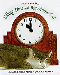 telling time with big mama cat - teaching book