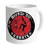 N\A Tazas Divertidas Tazas de café Taza Oficial de Karate Kid Miyago-Do