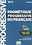 Phonetique progressive 2e edition: Livre avance + CD MP3 (B2/C1) (Progressive du français)