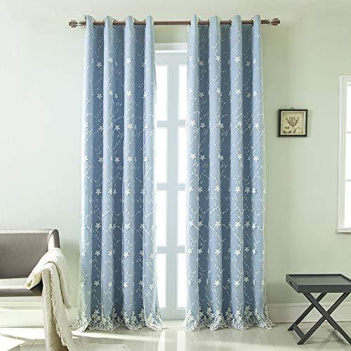 cortinas habitacion matrimonio bordadas