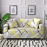 ASCV Funda de sofá de algodón con Estampado Floral Toalla de sofá Fundas de sofá para Sala de Estar Funda de sofá Funda sofá Proteger Muebles A6 1 Plaza