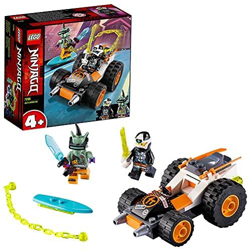 LEGO 71706 Ninjago LeBolidedeCole - Jouet de Construction pour Enfants, avec Une Voiture et des Figurines d'Action Ninjas