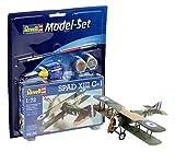 Revell Modellbausatz Flugzeug 1:72 - Spad XIII C-1 im Maßstab 1:72, Level 3, originalgetreue Nachbildung mit vielen Details, , Model Set mit Basiszubehör, 64192 -