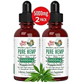 HEMP OIL FOR OVERALL WELLNESS - Hemp Seed Oil is highly beneficial for the receptors that moderate the body's homeostasis, regulating everything from sleep to cognitive function to inflammation. Our hemp extract is formulated with fatty acids Omega-3...
