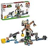 LEGO 71390 Super Mario Set de Expansión: Derribo de Los Reznors, Juguete de Construcción Coleccionable para Niños