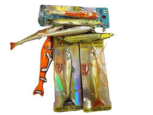 1x collezione novità Goldfish cod nasello pesce pagliaccio salmone lucido Pen by Fat-catz-copy-catz