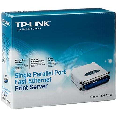 Tp-Link TL-PS110P Single Parallel Port Fast Ethernet Print Server