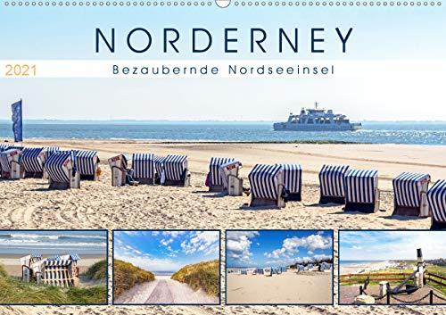 NORDERNEY Bezaubernde Nordseeinsel (Wandkalender 2021 DIN A2 quer)