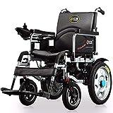 TYT Silla de ruedas eléctrica para personas mayores con discapacidad Scooter ligero plegable para personas mayores tipo todoterreno,Sección básica de plomo ácido 12ah (recomendado)