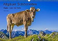 Allgaeuer Schoenheiten Allgaeu - Land der Kuehe (Wandkalender 2022 DIN A3 quer): Kuehe - die Stars und Schoenheiten des Allgaeus (Monatskalender, 14 Seiten )